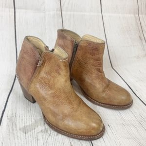 Bed Stu Leather Ankle Booties 9.5